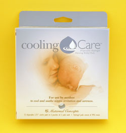 Cooling Care™ Disposable Hydrogel Nursing Relief Pads